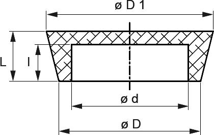 INtherm® Konische Hohlstopfen - auch als Kappe einsetzbar